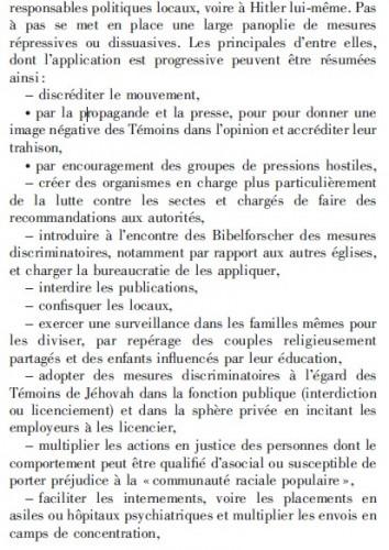 témoin de jéhovah, discrimination